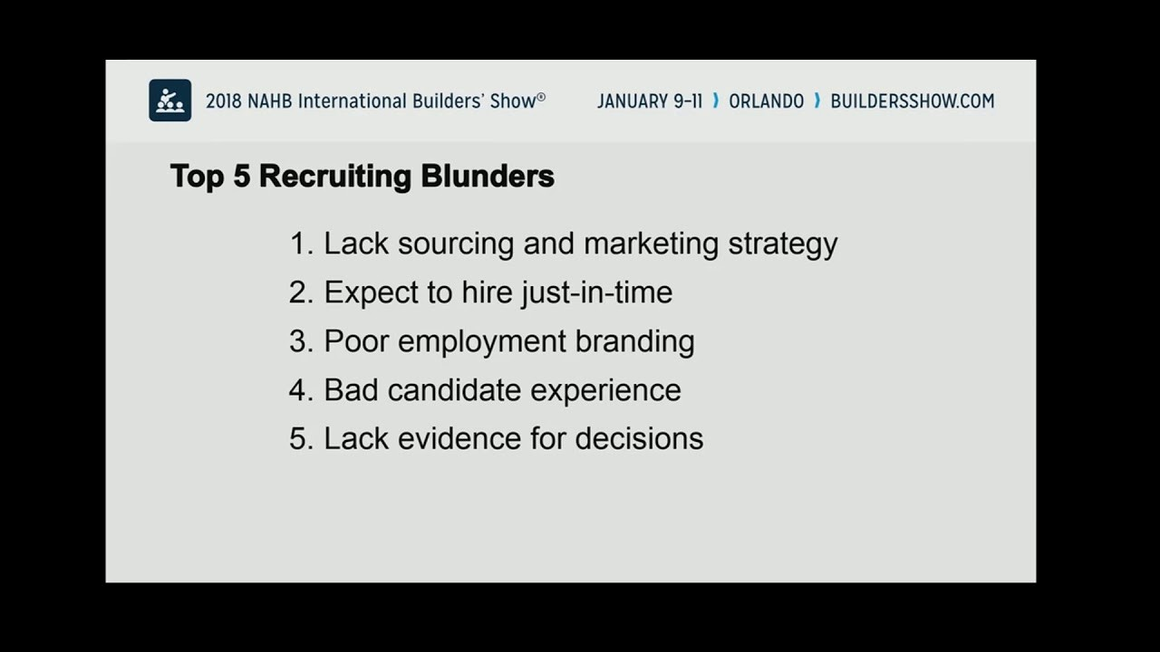 5 Recruiting Blunders, Ira S Wolfe, recruiting in the age of Googlization