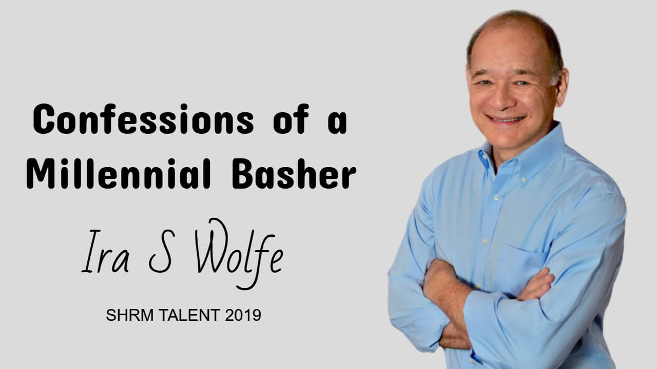 Confessions of a Millennial Basher, IRa S Wolfe